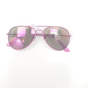 Juicy couture pink aviator sunglasses New